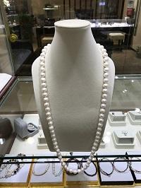 12mm本真珠ネックレス