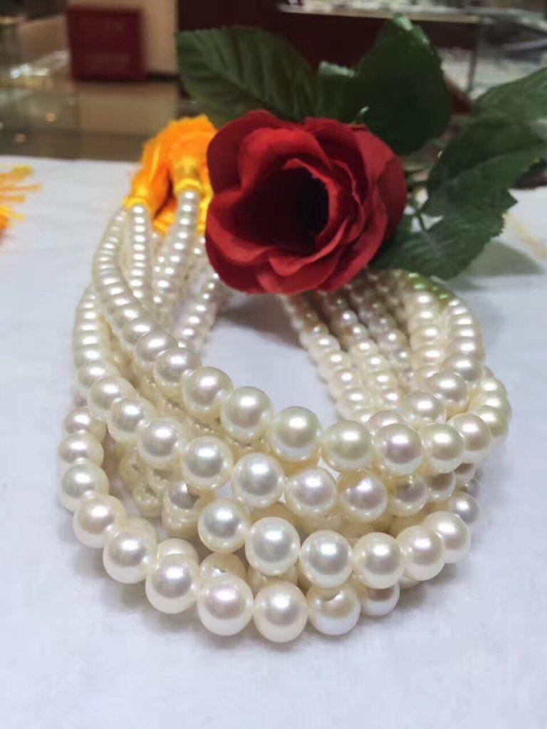 真珠にお化粧をするとは?
